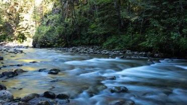 Wood Lake camping river