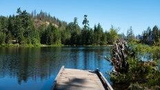 Wood Lake dock